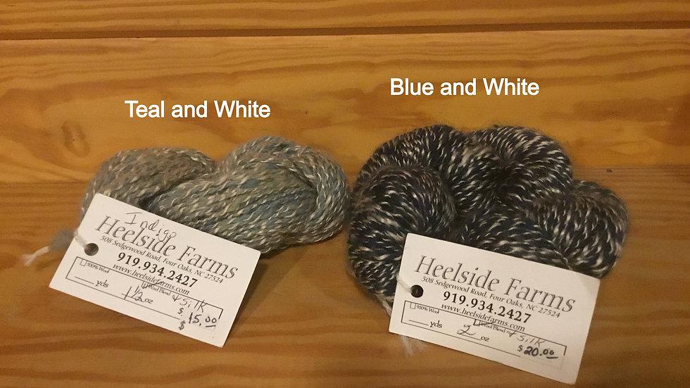 Wool and Silk Blend Yarn