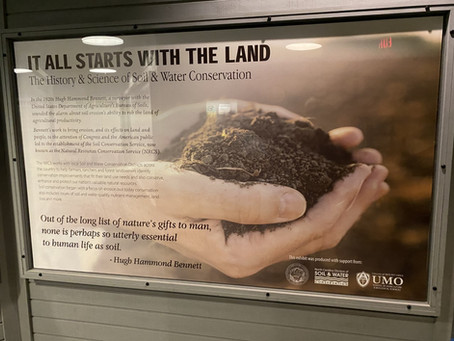 Museum Unveils New Exhibit About the History and Science of Soil Conservation