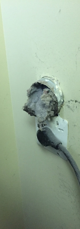the dangers of vents near electrical plugs