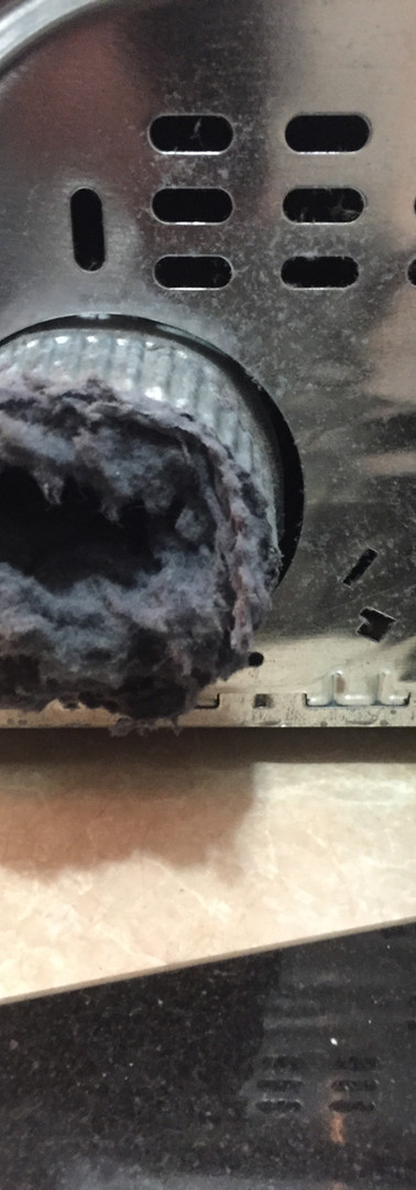 how to fix a clogged dryer vent
