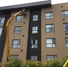 Apartment building and Condos
