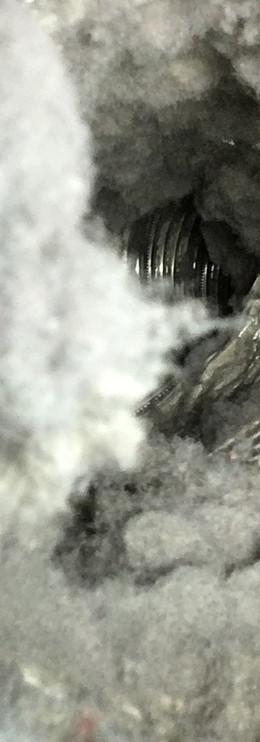 lint accumulation in dryer