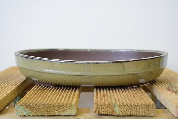 Poterie ovale (4 couleurs & taille au choix)