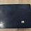 Thumbnail: Table tournante en bois goudronné - 30 x 40 cm