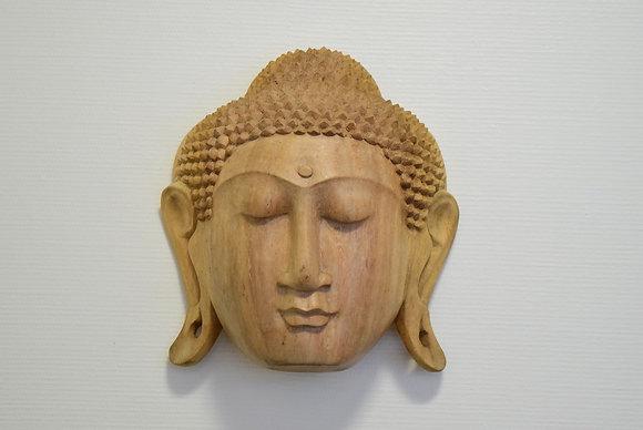 Masque de bouddha (26 cm de hauteur)