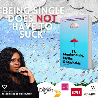Dr. Sara Manhandling myths and mudholes book for singles