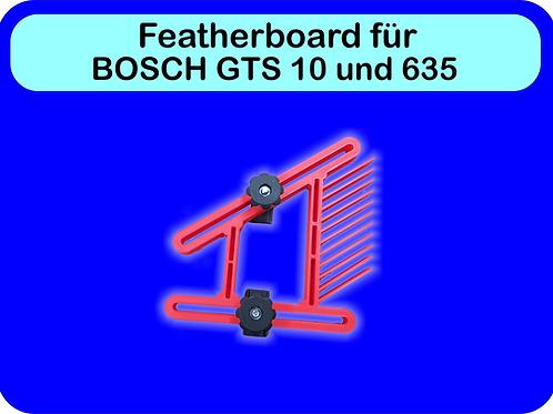 Featherboard Bosch GTS 10XC & 635