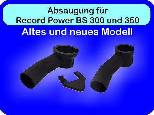 Absaugung für Record Power BS 300 und BS 350