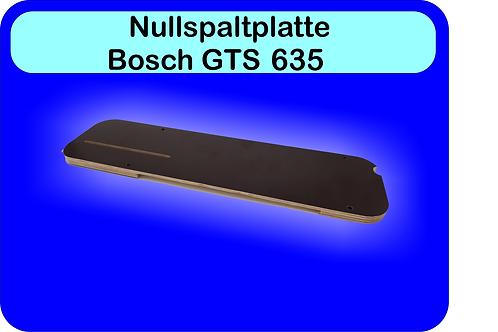 Nullspaltplatte  Bosch GTS 635
