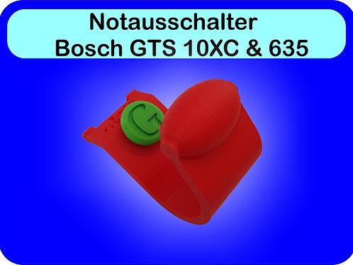 NOTAUS und an für Bosch GTS10XC & 635