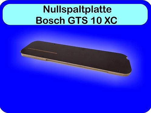 Nullspaltplatte für die Bosch GTS10XC