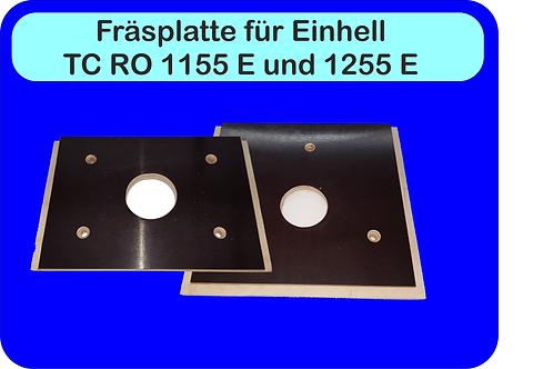 Einlegeplatten (Fräsplatten) für Bosch,Makita und Einhell  (Akku) Fräsen