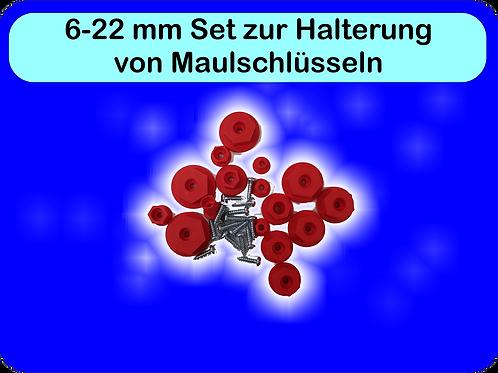 6 -22mm Halterset für Maulschlüssel