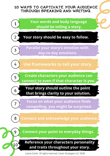 10 ways to captivate your audience throu