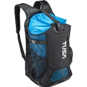 Mesh Backpack with Dry Bag