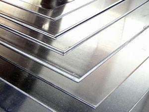 planchas de aluminio liso