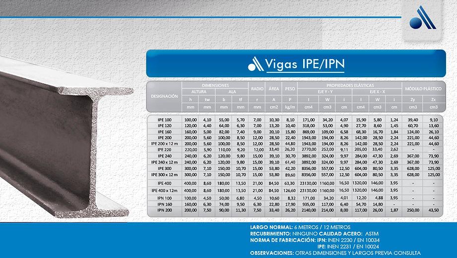 12-vigas-ipe-ipn-UPN ACERAL HEB VIGA LAM