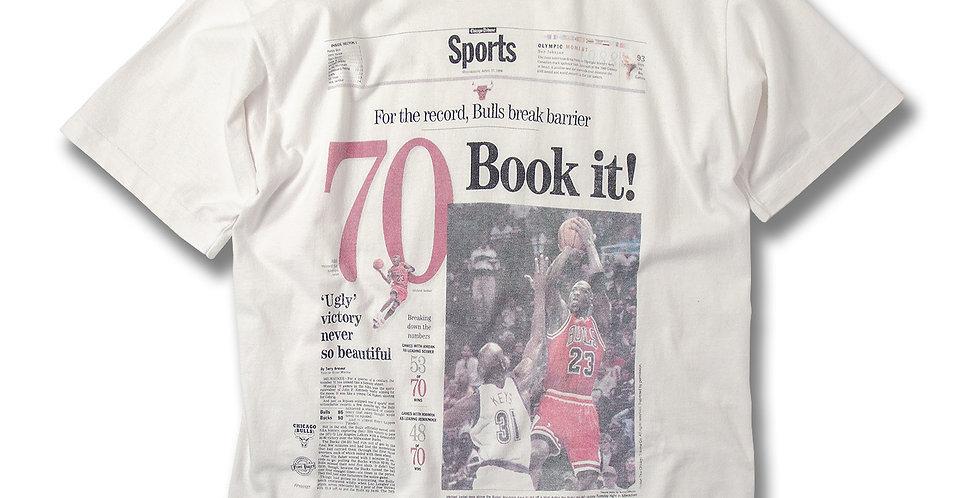 1996年 シカゴトリビューン プリントTシャツ