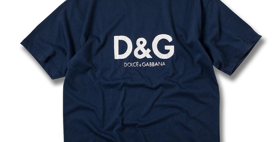 オールドDOLCE & GABBANA ロゴ Tシャツ