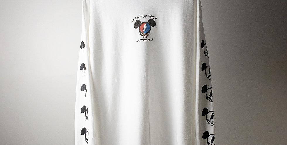 グレイトフル・デッド IT'S A DEAD WORLD L/S パーキングロット Tシャツ