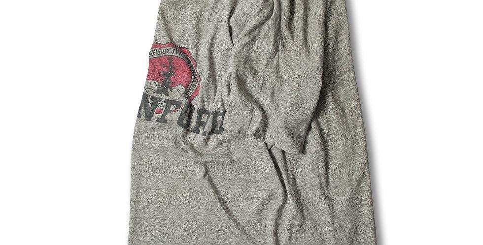 1960年代 チャンピオン ランタグ STANFORD 染込みプリント Tシャツ