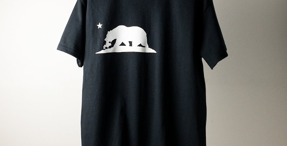 FREEWAY BIG-LOGO T-SHIRT BLACK