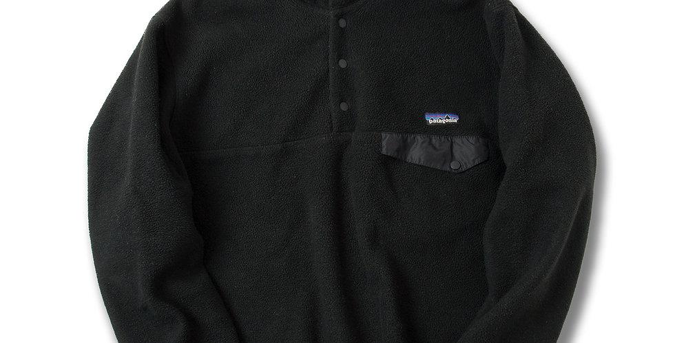 1990年代 ジャマイカ製 パタゴニア スナップT ブラック