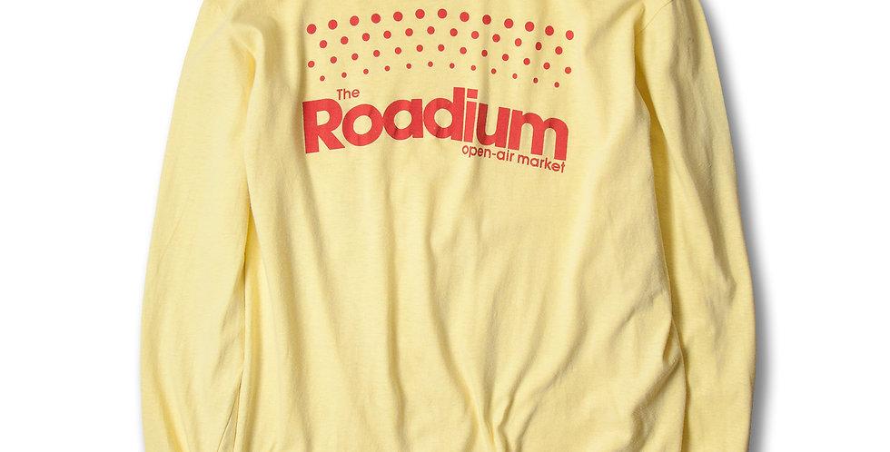 1980年代 Roadium open-air market ロングスリーブTシャツ