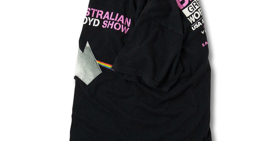 オーストラリアンピンクフロイド 2009年 BIG PINK GREATEST HITS WORLD TOUR Tシャツ