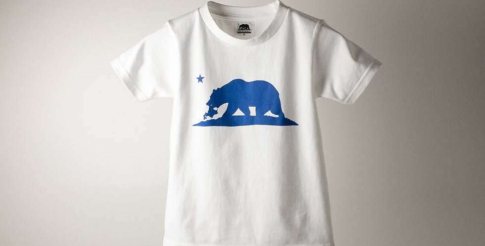 FREEWAY BIG-LOGO T-SHIRT WHITE KIDS