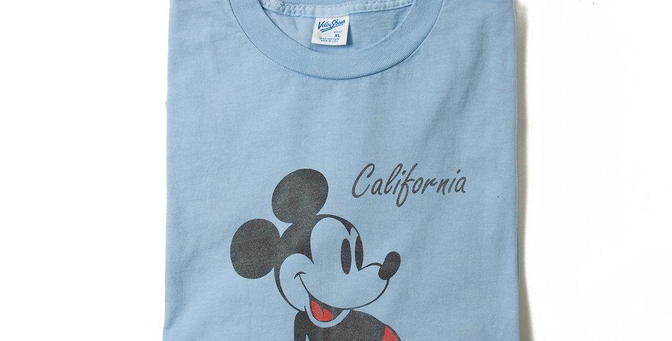 【XL】1990年代 ビンテージ ミッキーマウス Tシャツ M-19