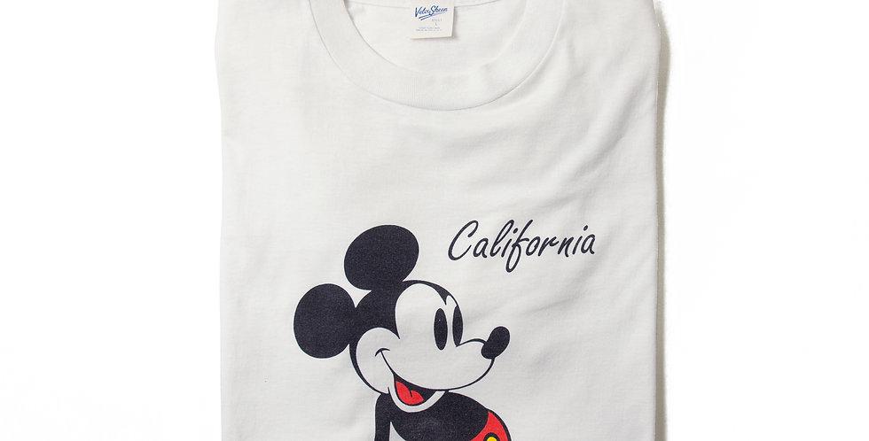 【L】1990年代 ビンテージ ミッキーマウス Tシャツ M-21