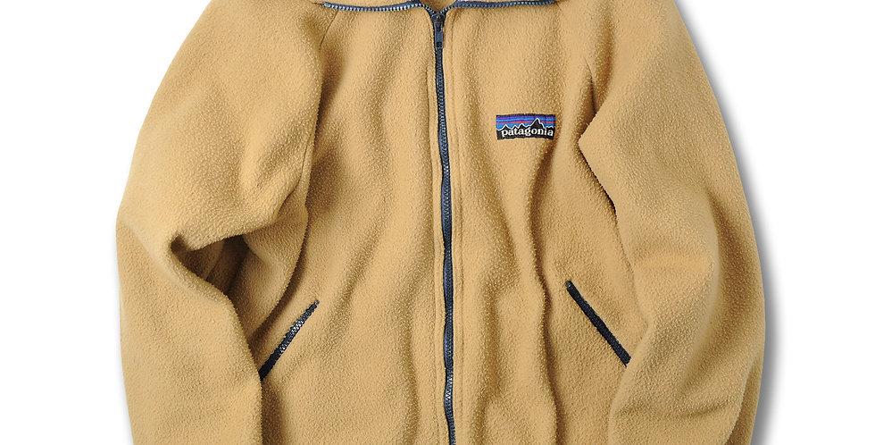 1980年代 パタゴニア デカタグ フルジップ フリースジャケット