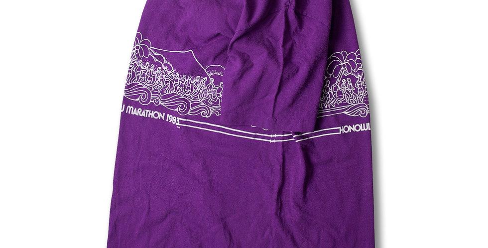 1983年 CRAZY SHIRT ホノルルマラソン Tシャツ
