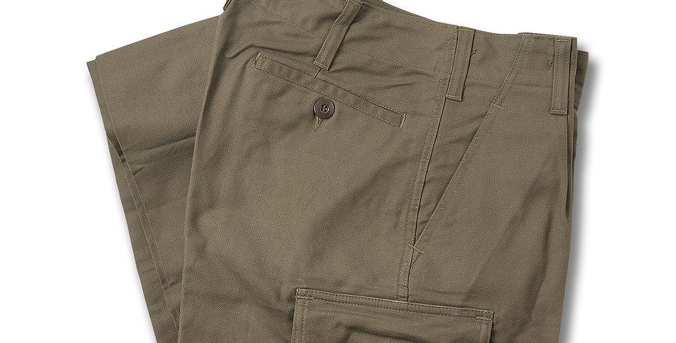 【12】1990年製 ドイツ軍 モールスキン 5ポケット トラウザーパンツ デッドストック