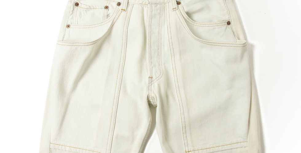 W33 Explorer Bleach Denim Shorts blc-2