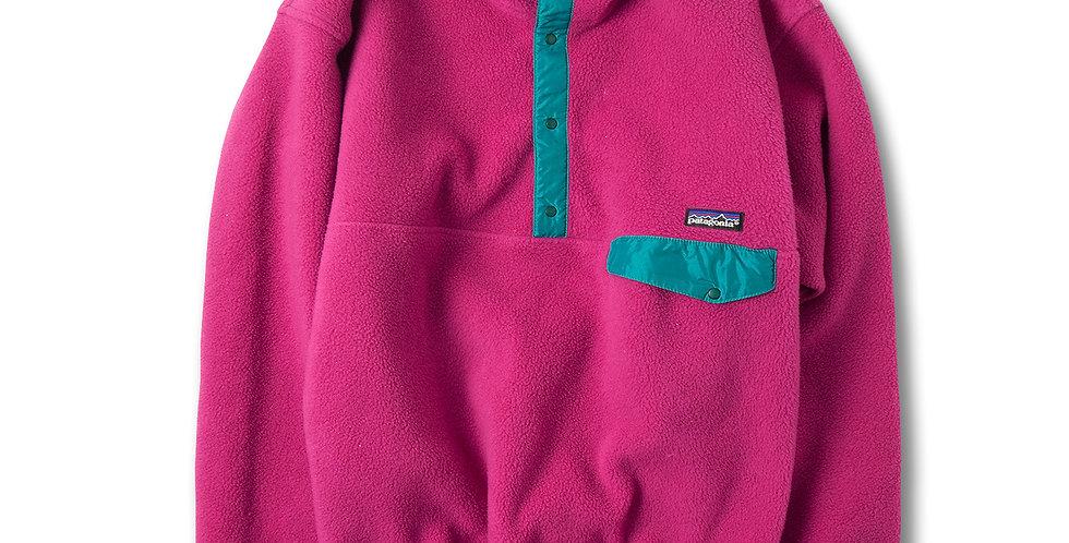 1990年代 パタゴニア スナップT プルオーバー ピンク L