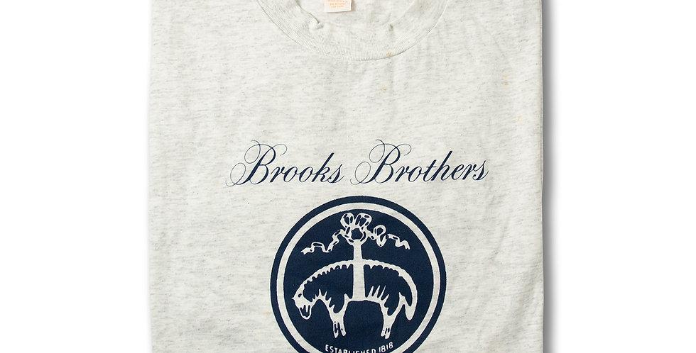 ブルックスブラザーズ アメリカ製 ロゴTシャツ ビッグサイズ