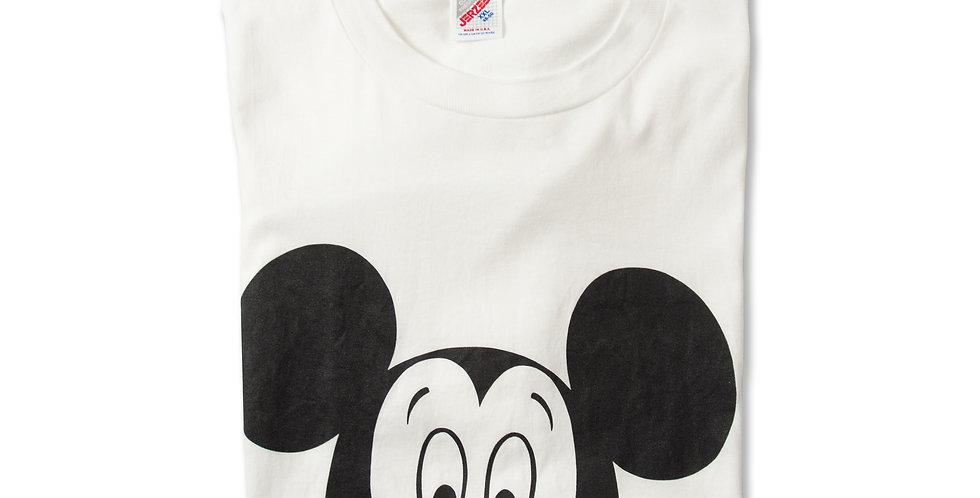 【XXL】1980年代 ビンテージ ミッキーマウス Tシャツ M-3