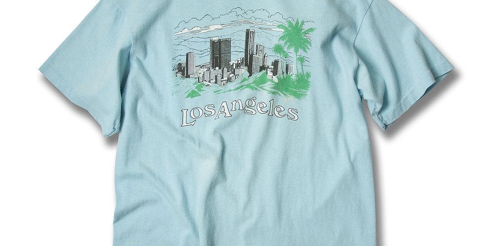 1980年代 Los Angeles スーベニアTシャツ ANVIL黒タグ