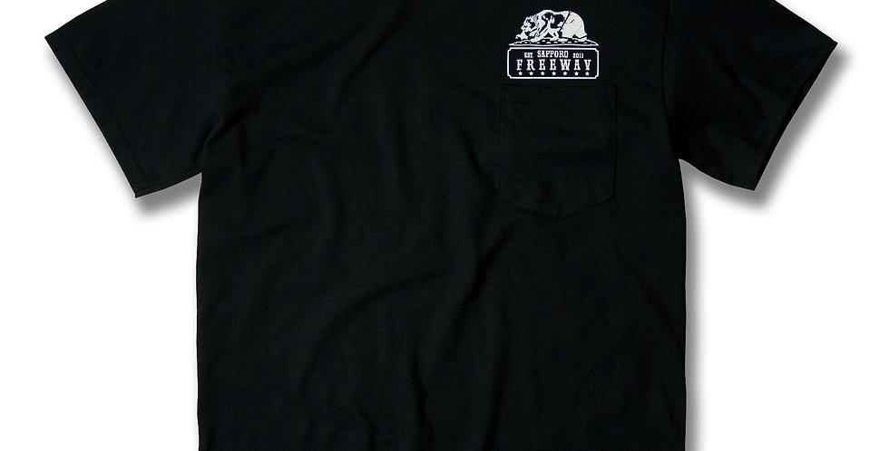 FREEWAY 6th Anniversary T-SHIRT BLACK