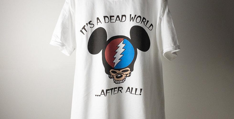 グレイトフル・デッド IT'S A DEAD WORLD S/S パーキングロット Tシャツ