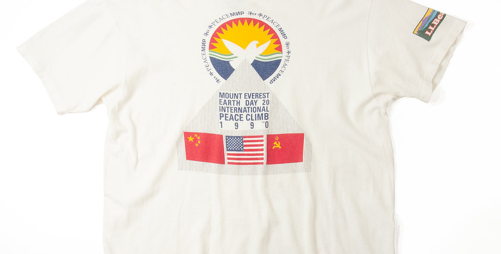1990年MOUNT EVEREST EARTH DAY 20 Tシャツ