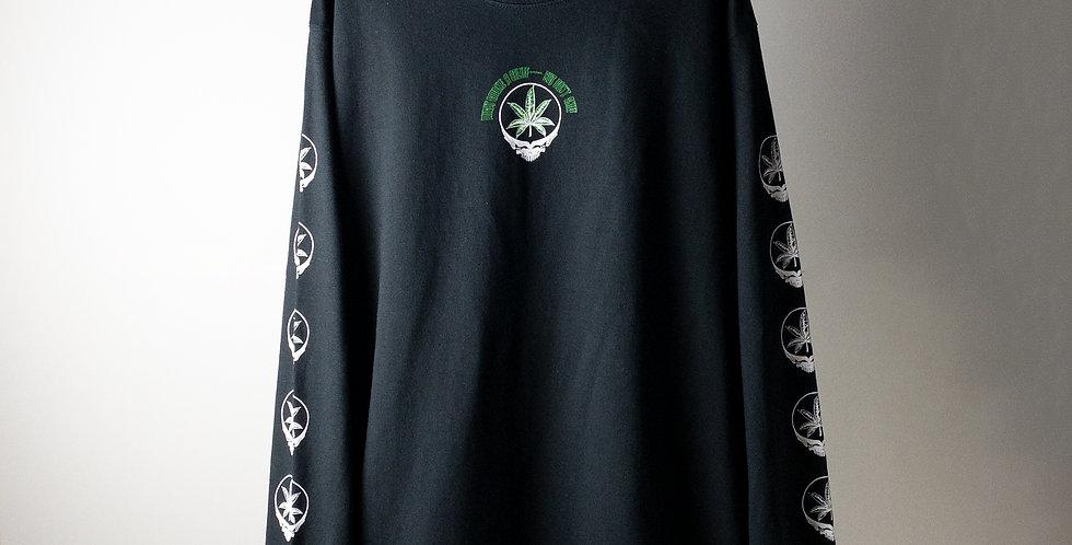 グレイトフル・デッド DEAD A SPLIFF L/S パーキングロット Tシャツ