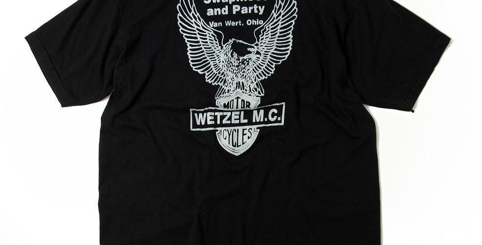 1990年代 WETZEL MOTORCYCLE CLUB Tシャツ