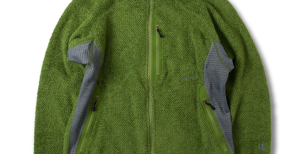 2005年製 パタゴニア メンズ R2ジャケット グリーン MEDIUM