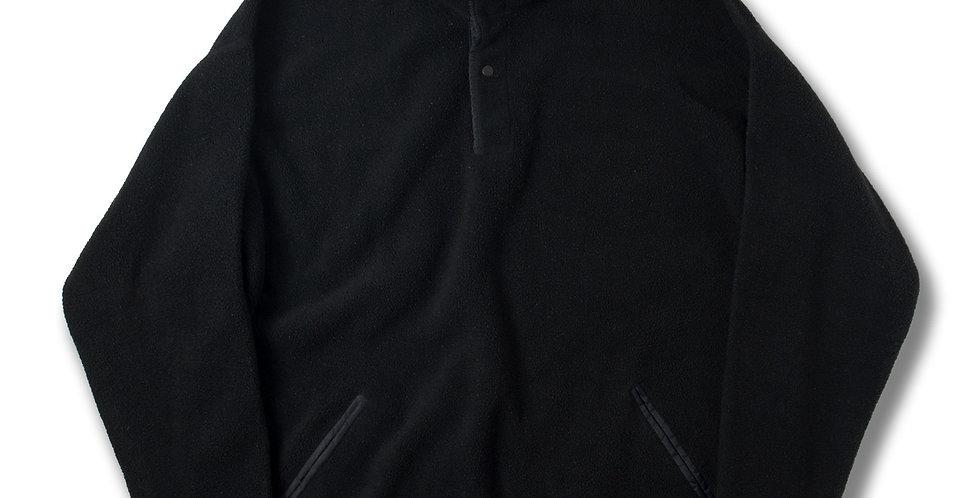 1995年製 パタゴニア プルオーバー フリースジャケット ブラック アメリカ製 雪無しタグ