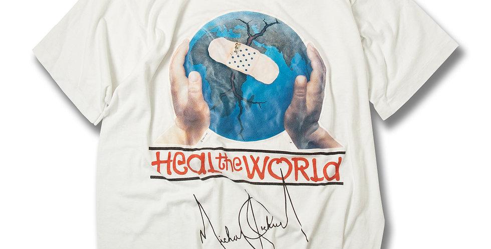 1993年 マイケルジャクソン ヒールザワールド Tシャツ