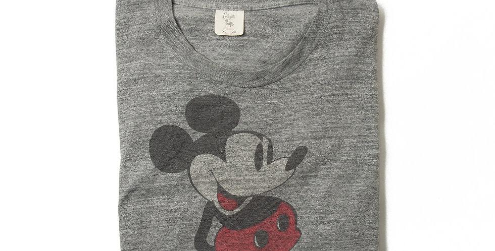 【XL】1970年代 ビンテージ ミッキーマウス Tシャツ M-31