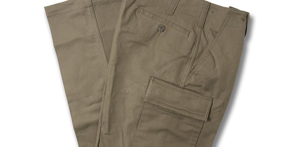 【12】1989年製 ドイツ軍 モールスキン 5ポケット トラウザーパンツ デッドストック